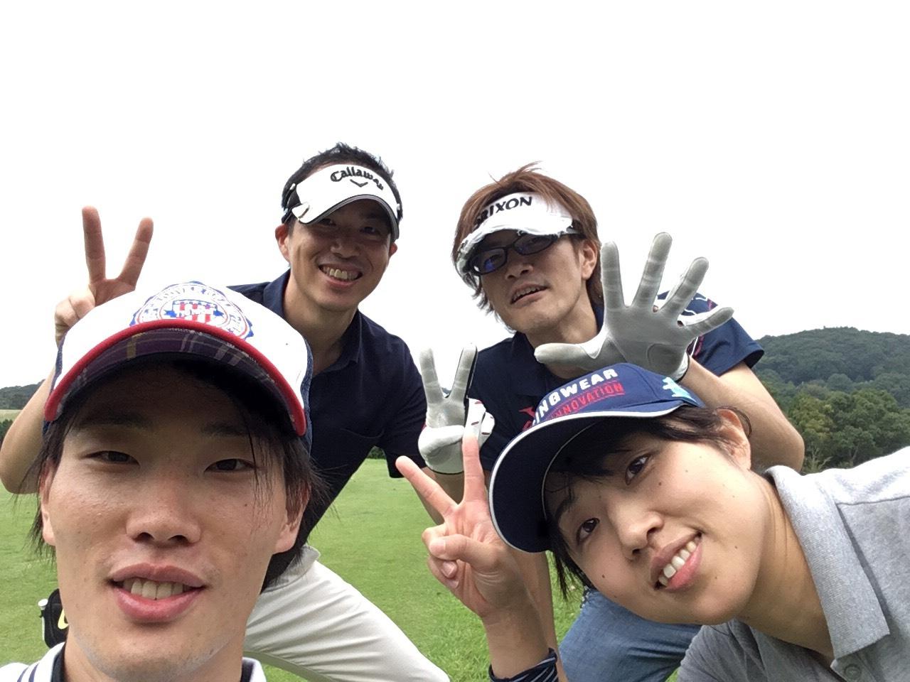 スタッフでゴルフ